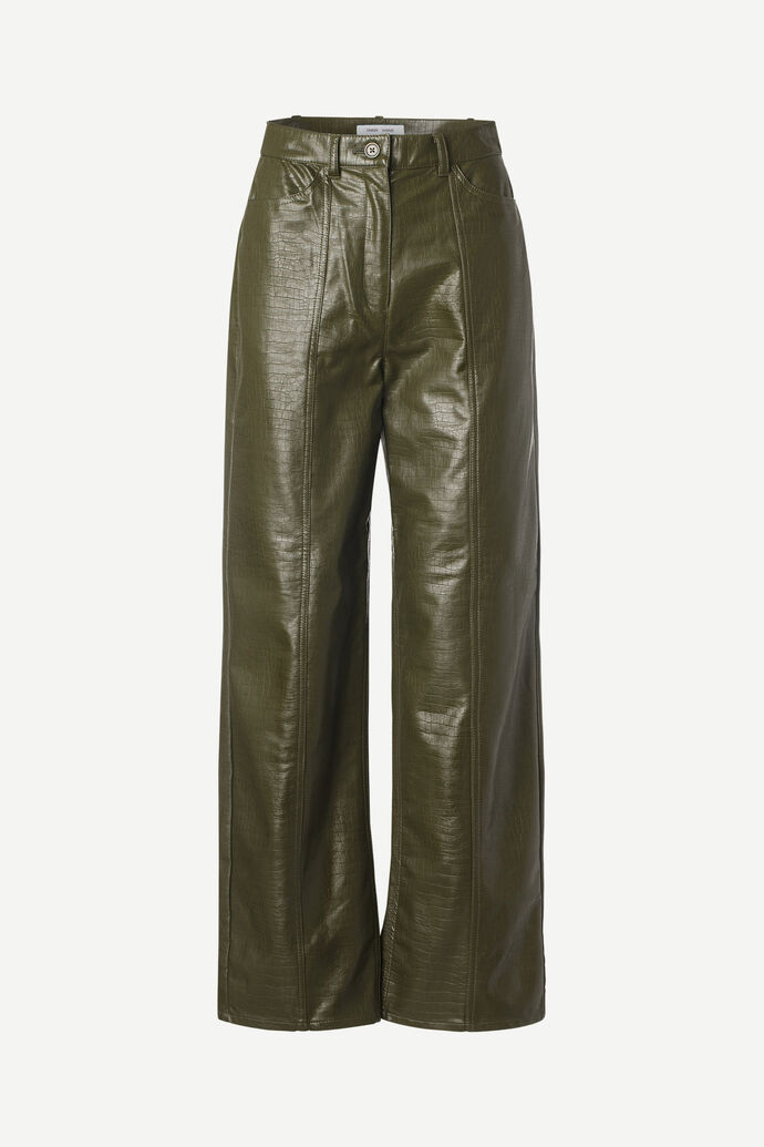 Novah trousers 13178, DARK OLIVE numéro d'image 3