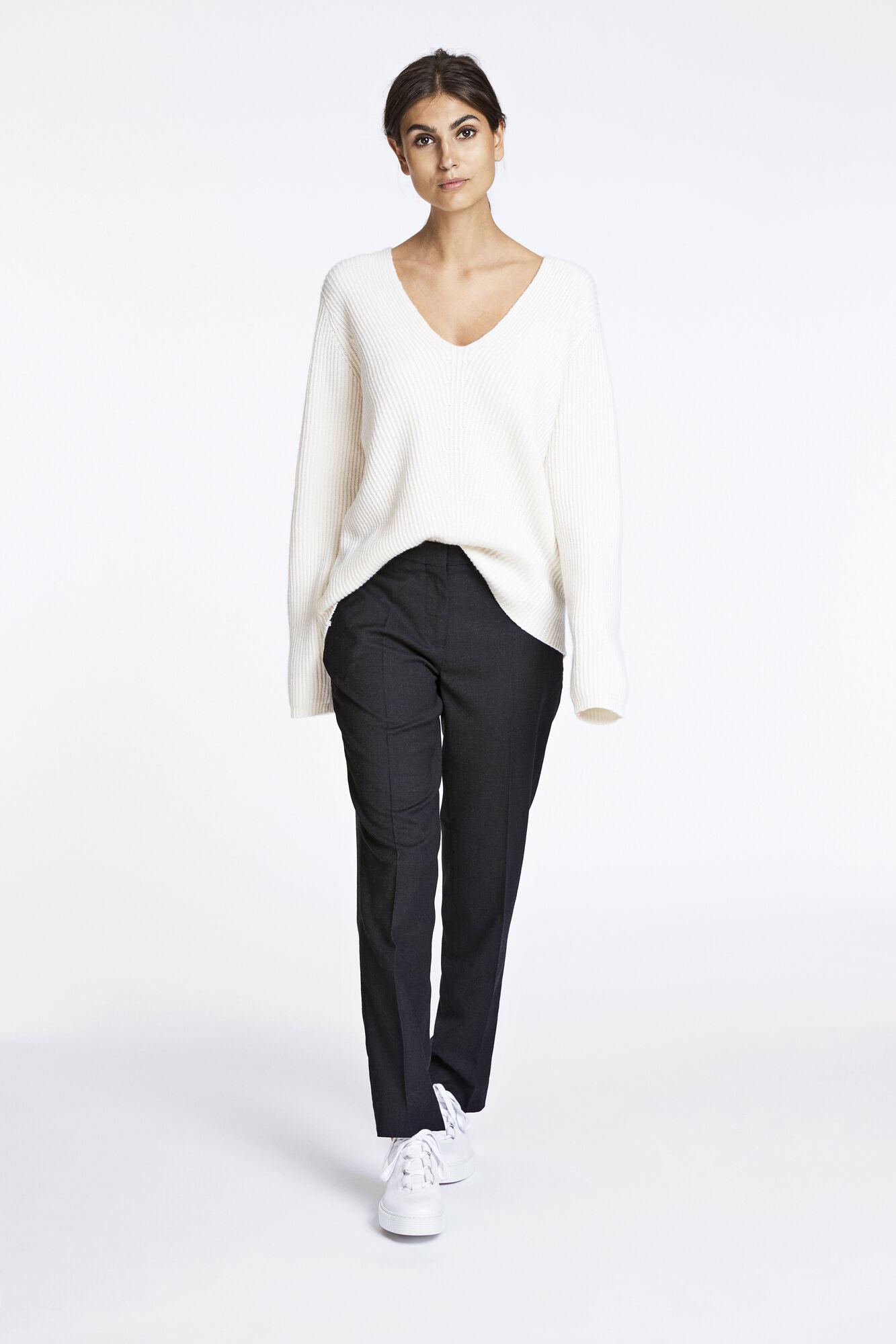 Lienne pants 6881, BLACK MEL