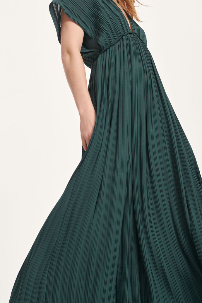 Quartz long dress 6621, DARKEST SPRUCE