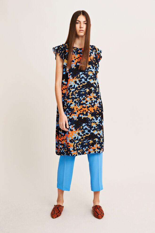 Mentha s dress aop 6616, BRIGHT DOTCAMO
