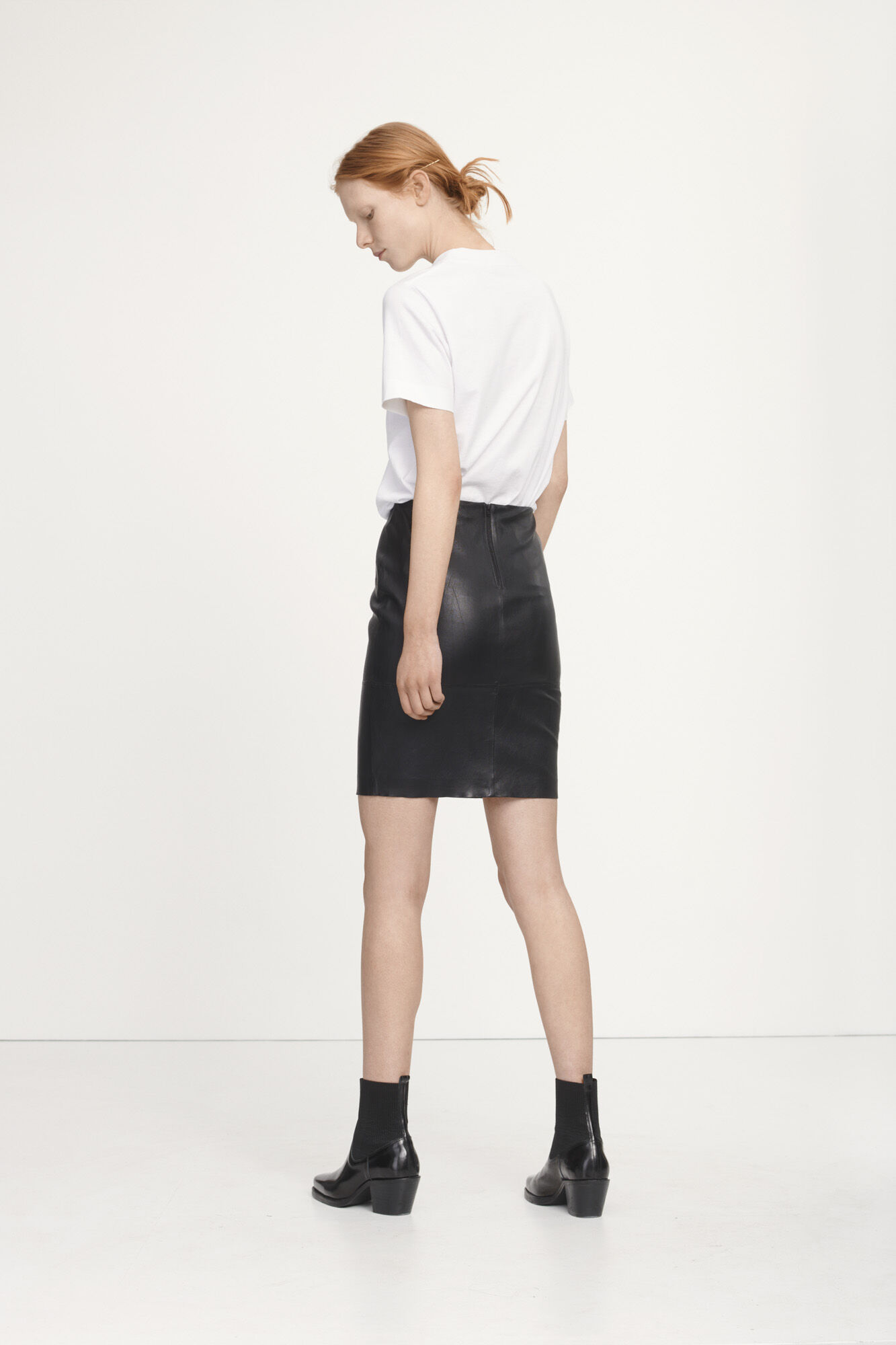 Kendal skirt 2169, BLACK