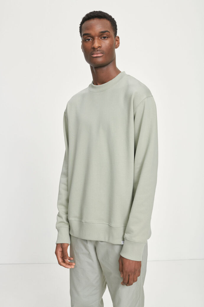 Toscan crew neck 11414, SEAGRASS