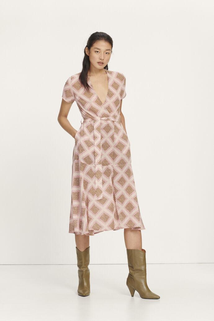 Klea long dress aop 6621, FOULARD