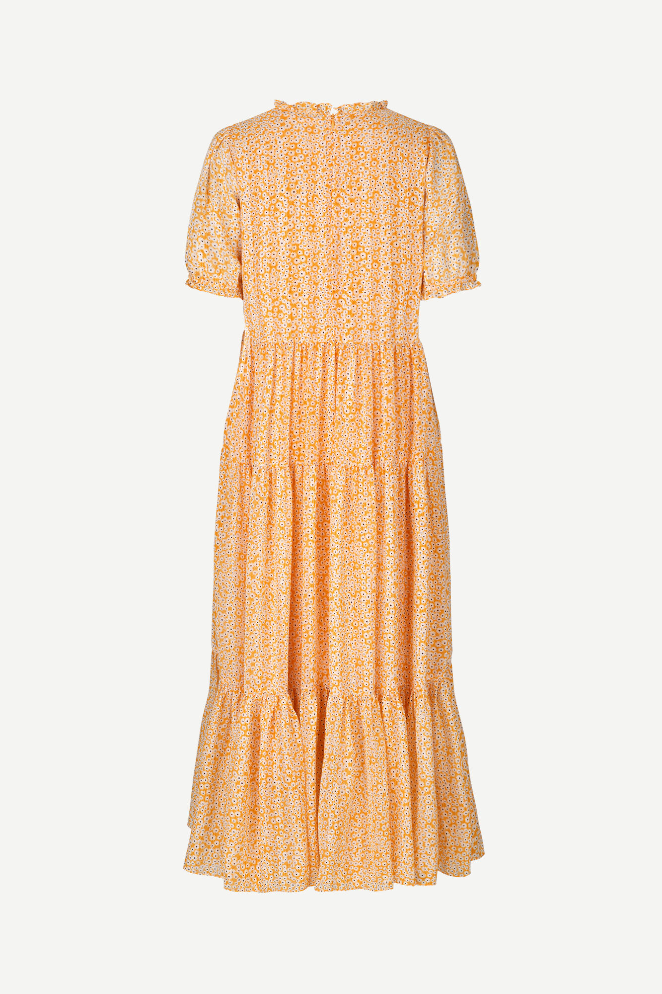 Emerald long dress aop 14018