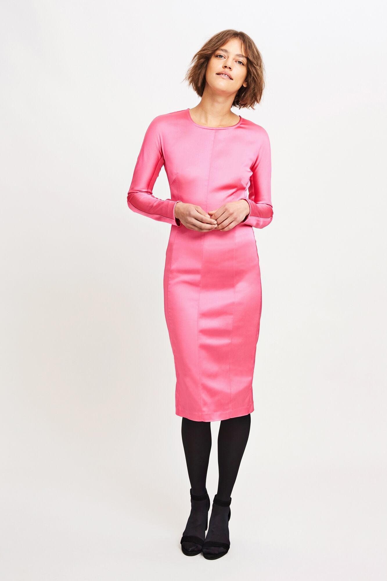 Lopez dress 8339, PINK GLO