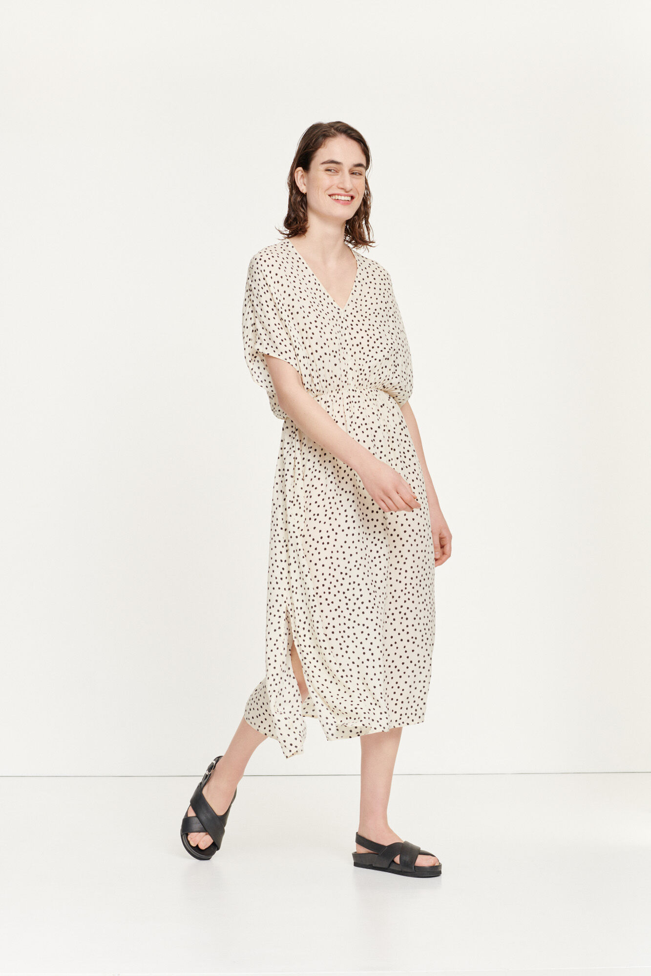 Andina long dress aop 8083