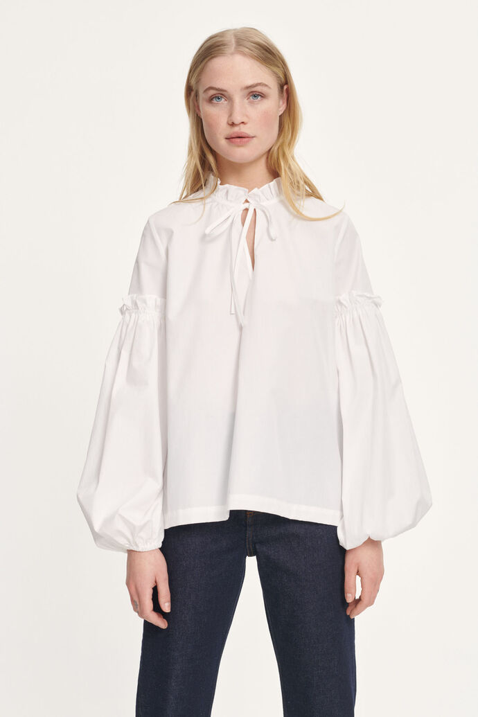 Maia shirt 11468, WHITE