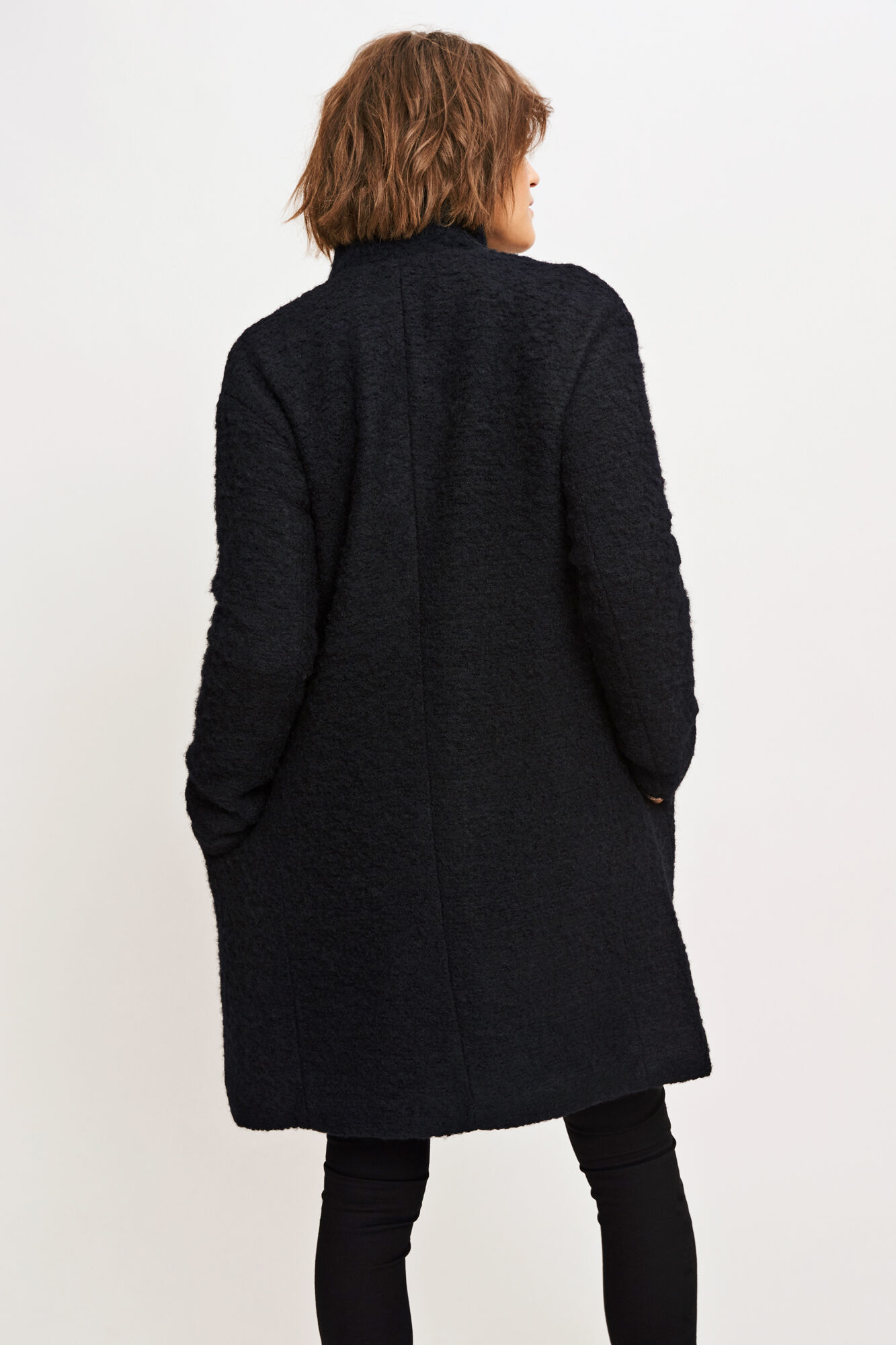 Mildred jacket 6182, BLACK MEL.