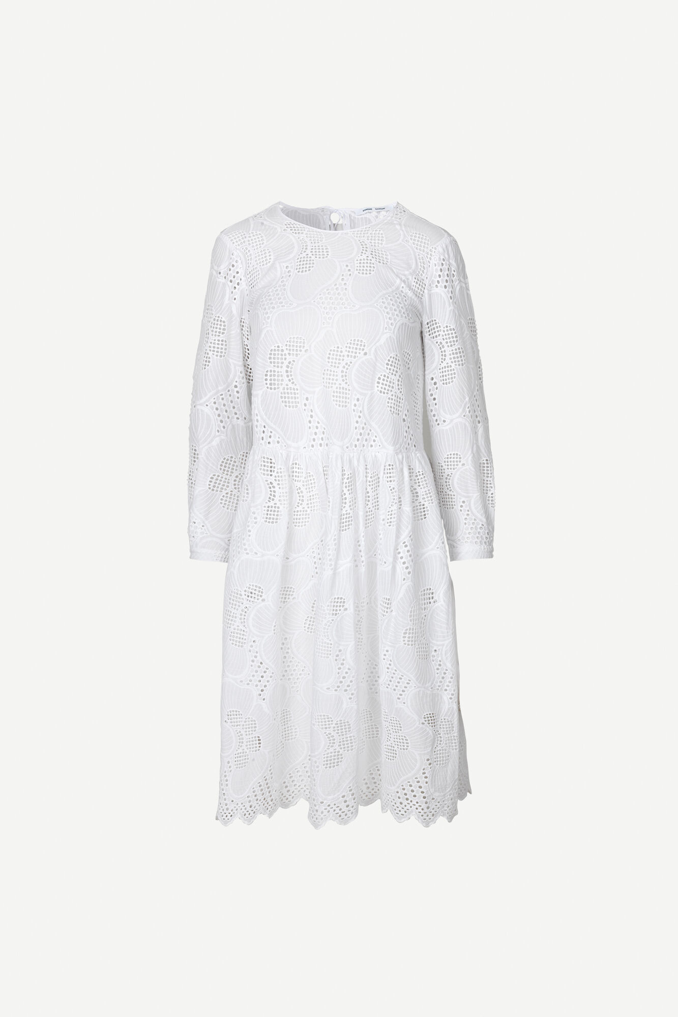 Junia ls dress 11455, BRIGHT WHITE