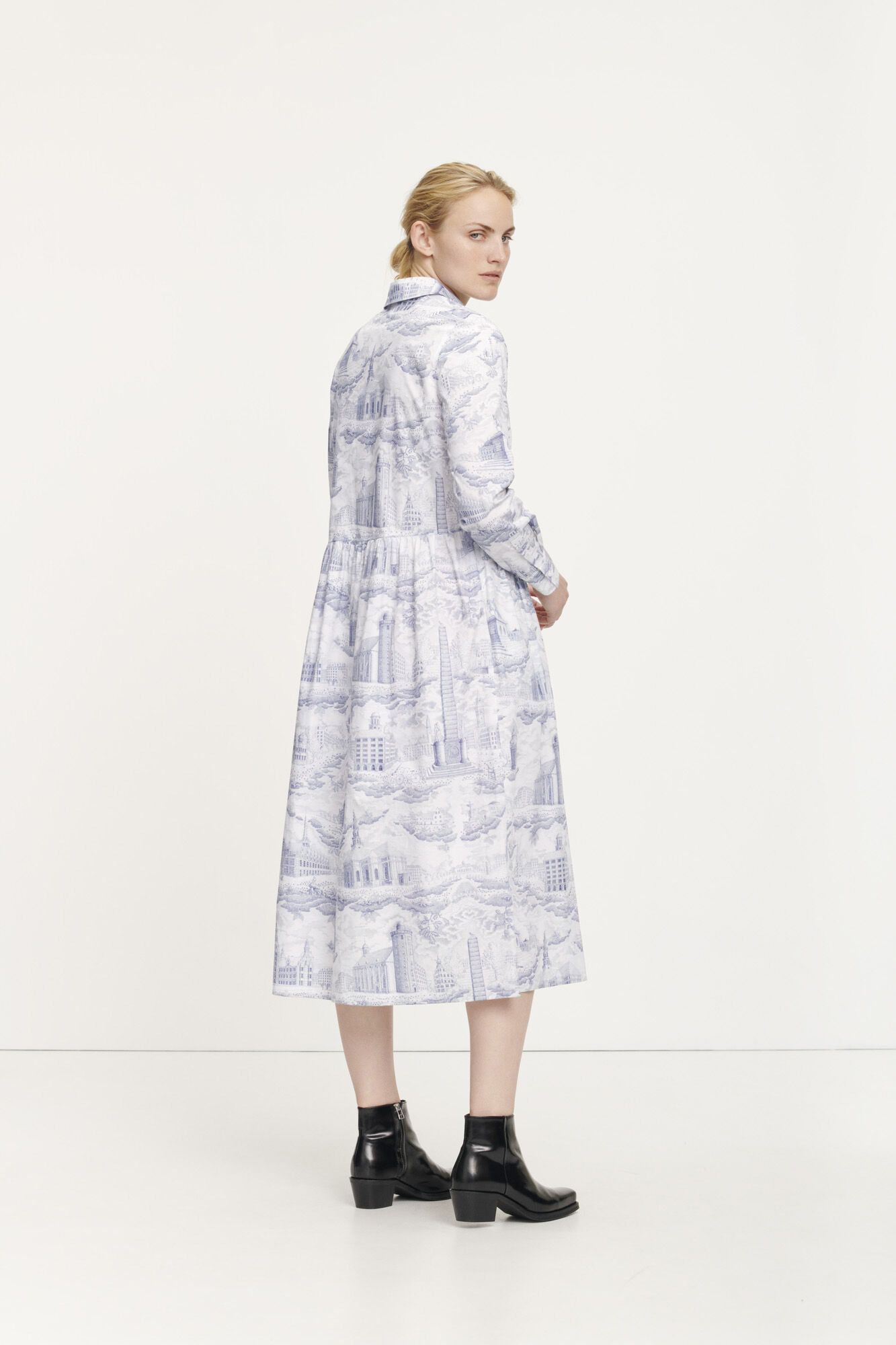 Eli shirt dress aop 11332