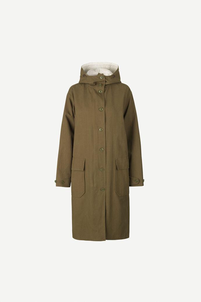 Lucine parka coat 12834, DARK OLIVE