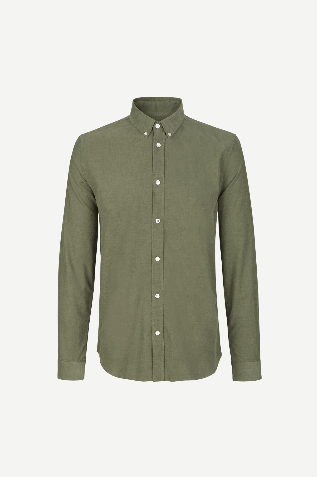 Liam BX shirt 11039, DEEP LICHEN GREEN