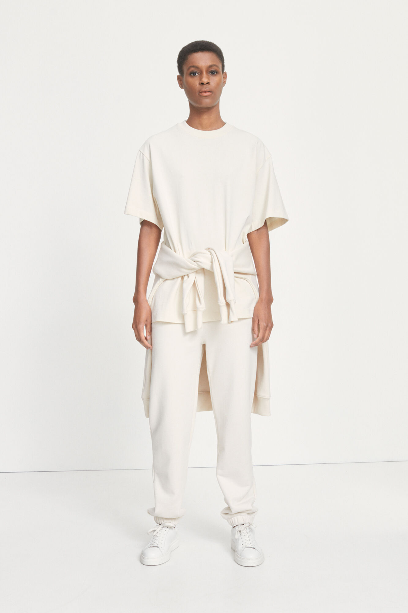 Undyed W trousers 11719
