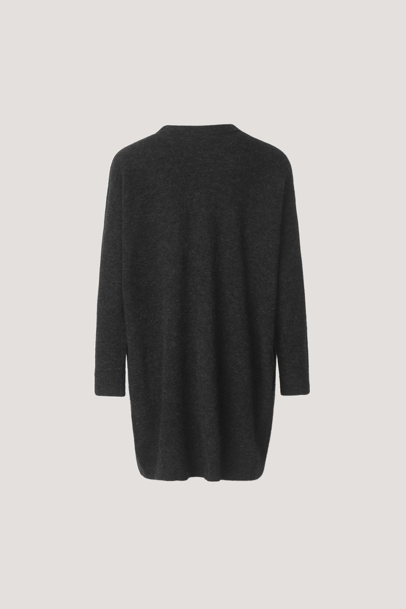 Nor cardigan 7355, BLACK MEL.