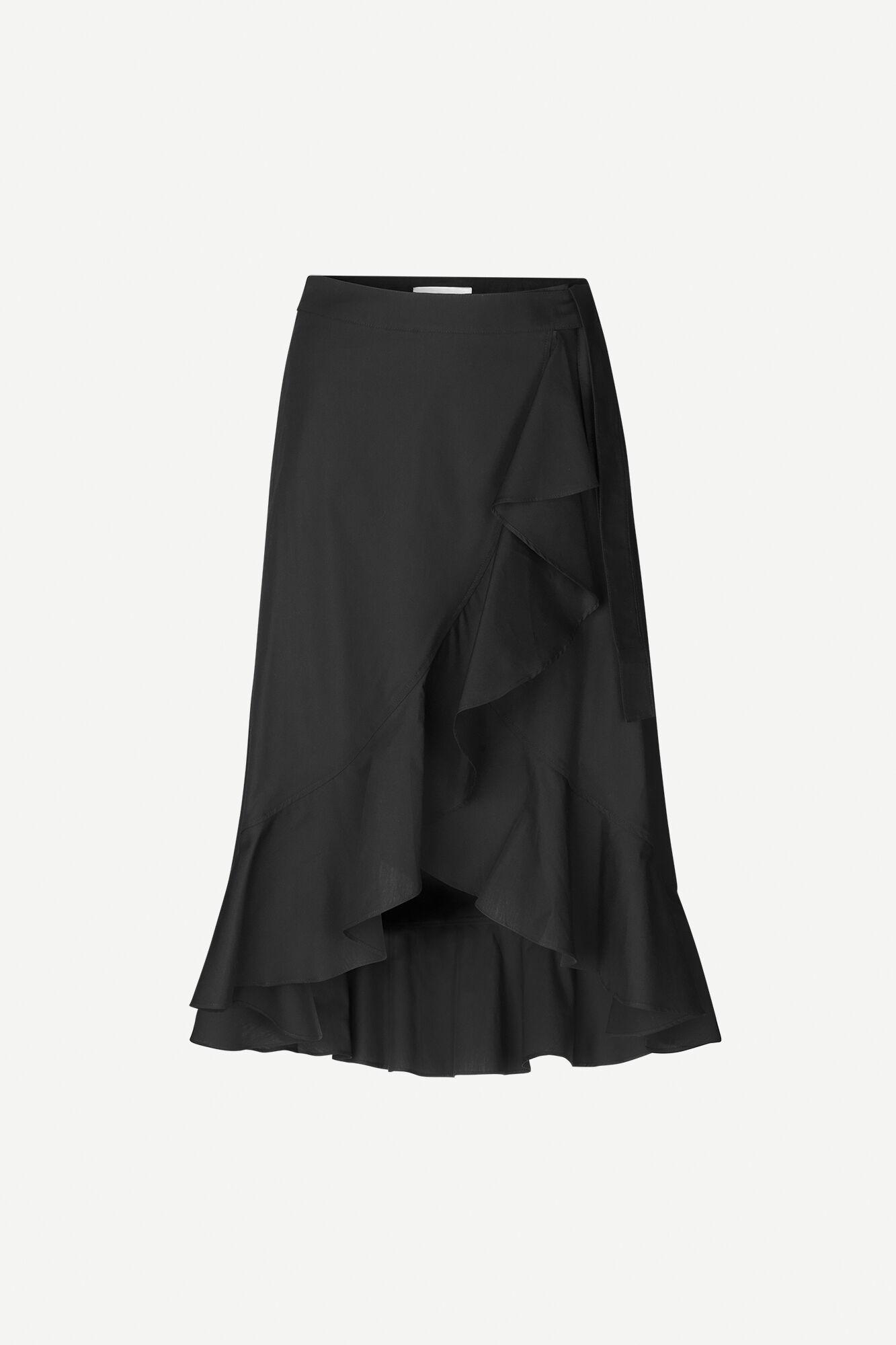 Adelia skirt 11468, BLACK
