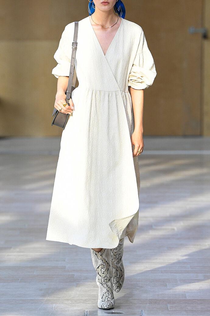 Jolie dress 11402, WHITE FLOWER