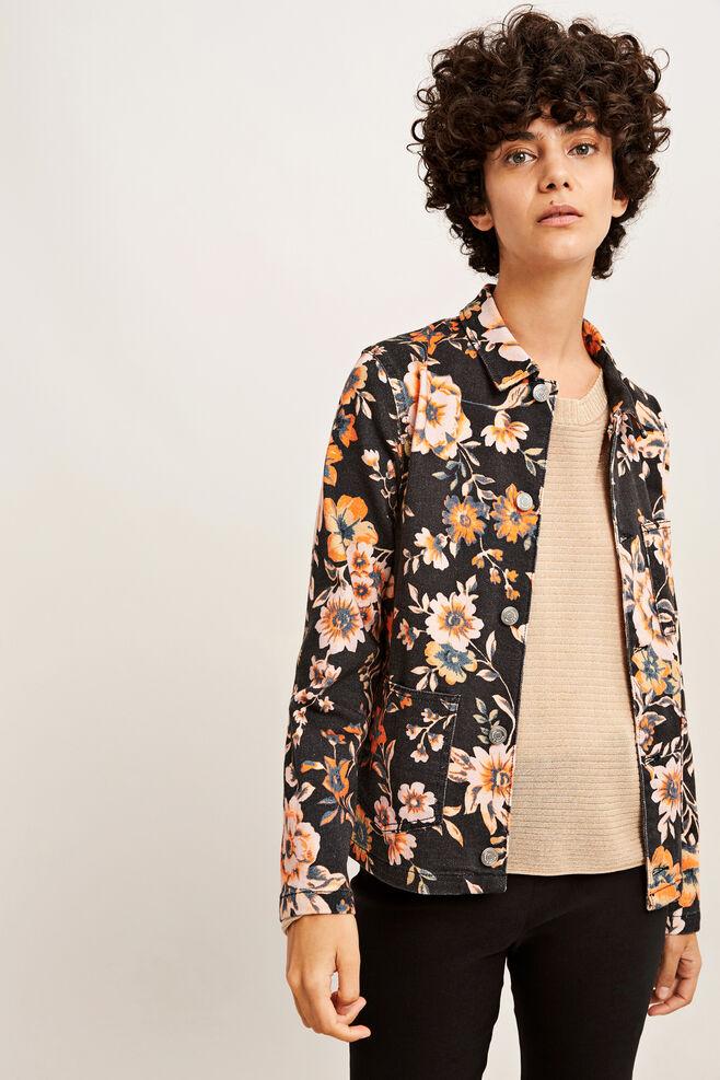 Vera jacket 9349, BLACK BLOOM