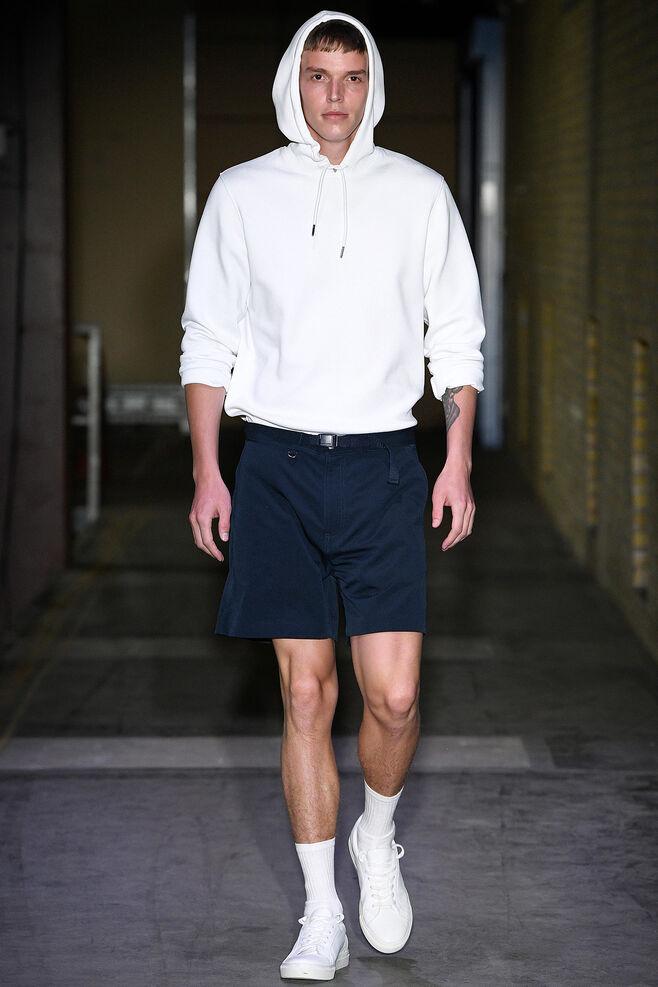 Sang hoodie 9658, WHITE