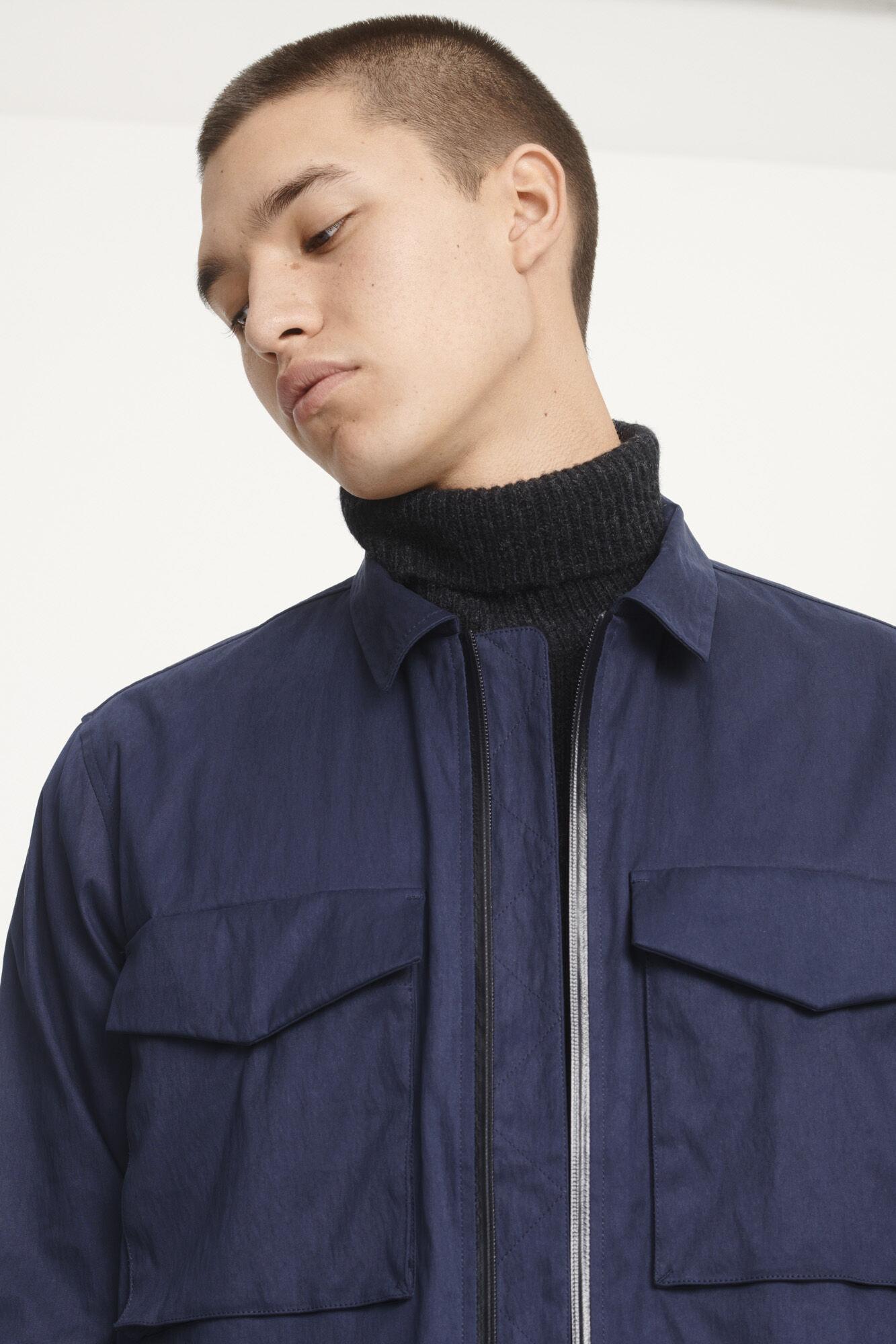 Ruffo JK Zip Shirt 11118
