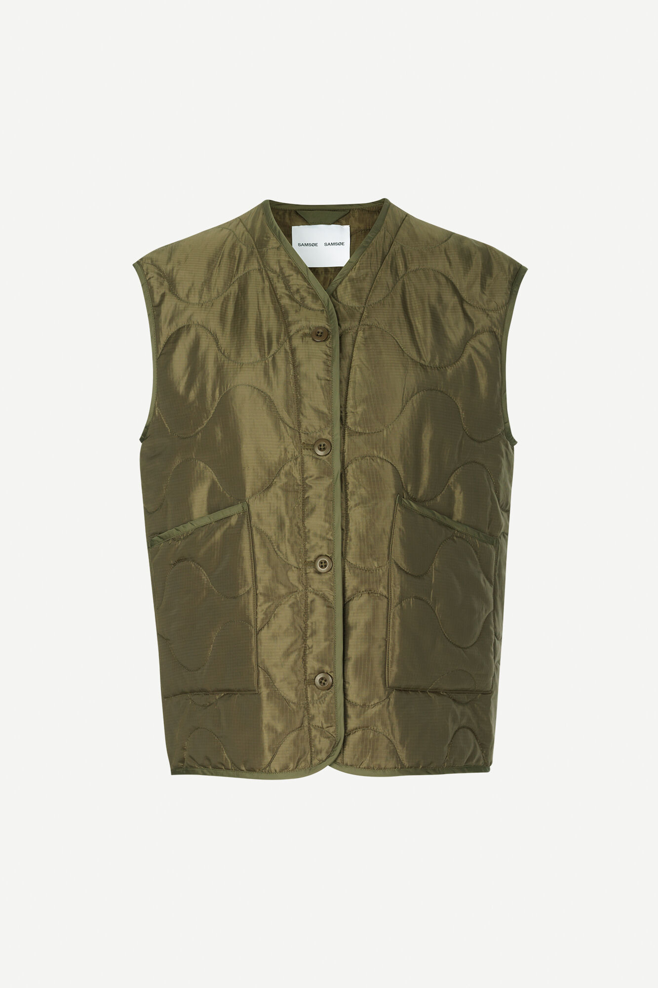 Amazon vest 12853, DARK OLIVE
