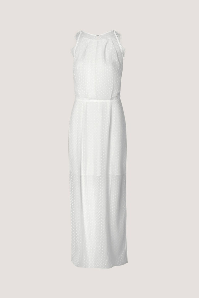 Willow dress long 10327, CLEAR CREAM