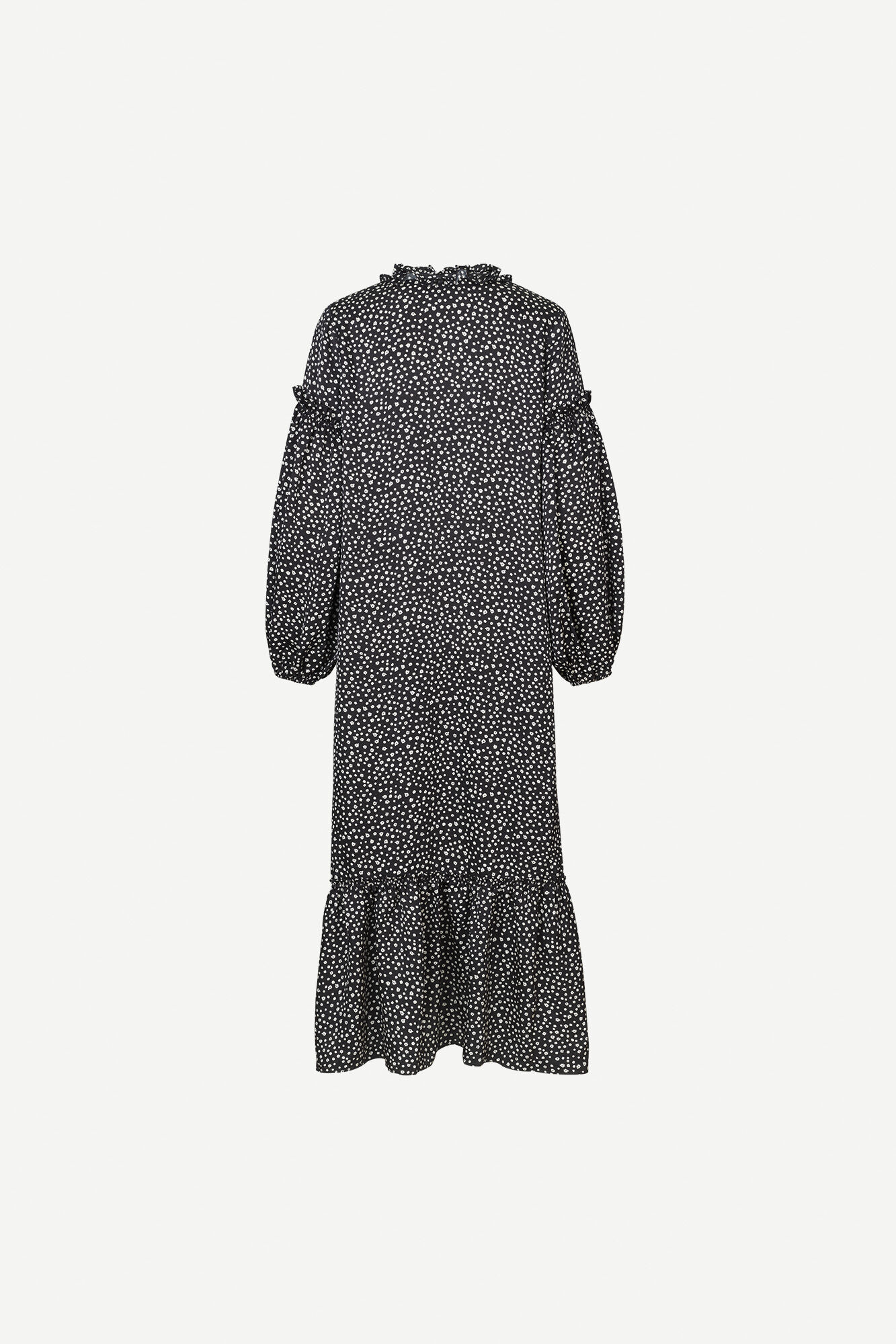 Vivre dress aop 12887, BLACK BLOSSOM