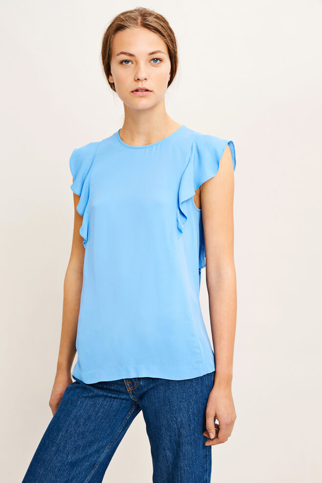 Mentha top 6616, SILVER LAKE BLUE