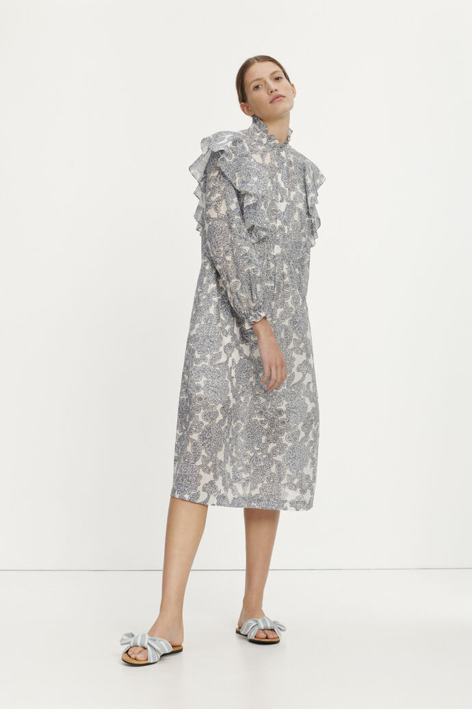 Martha l shirt dress aop 11159