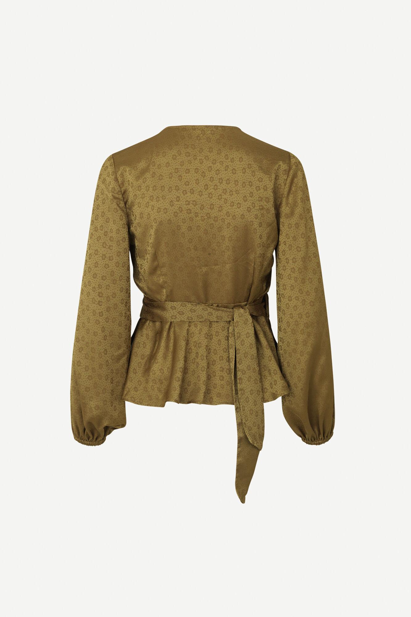 Veneta blouse 11459, GREEN KHAKI