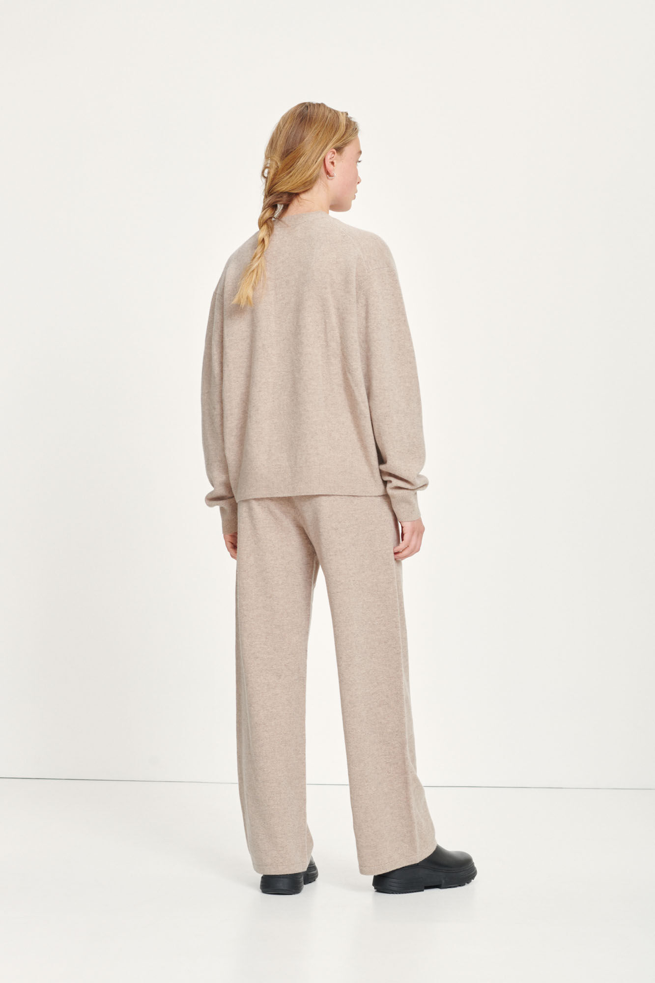 Amaris straight trousers 12758