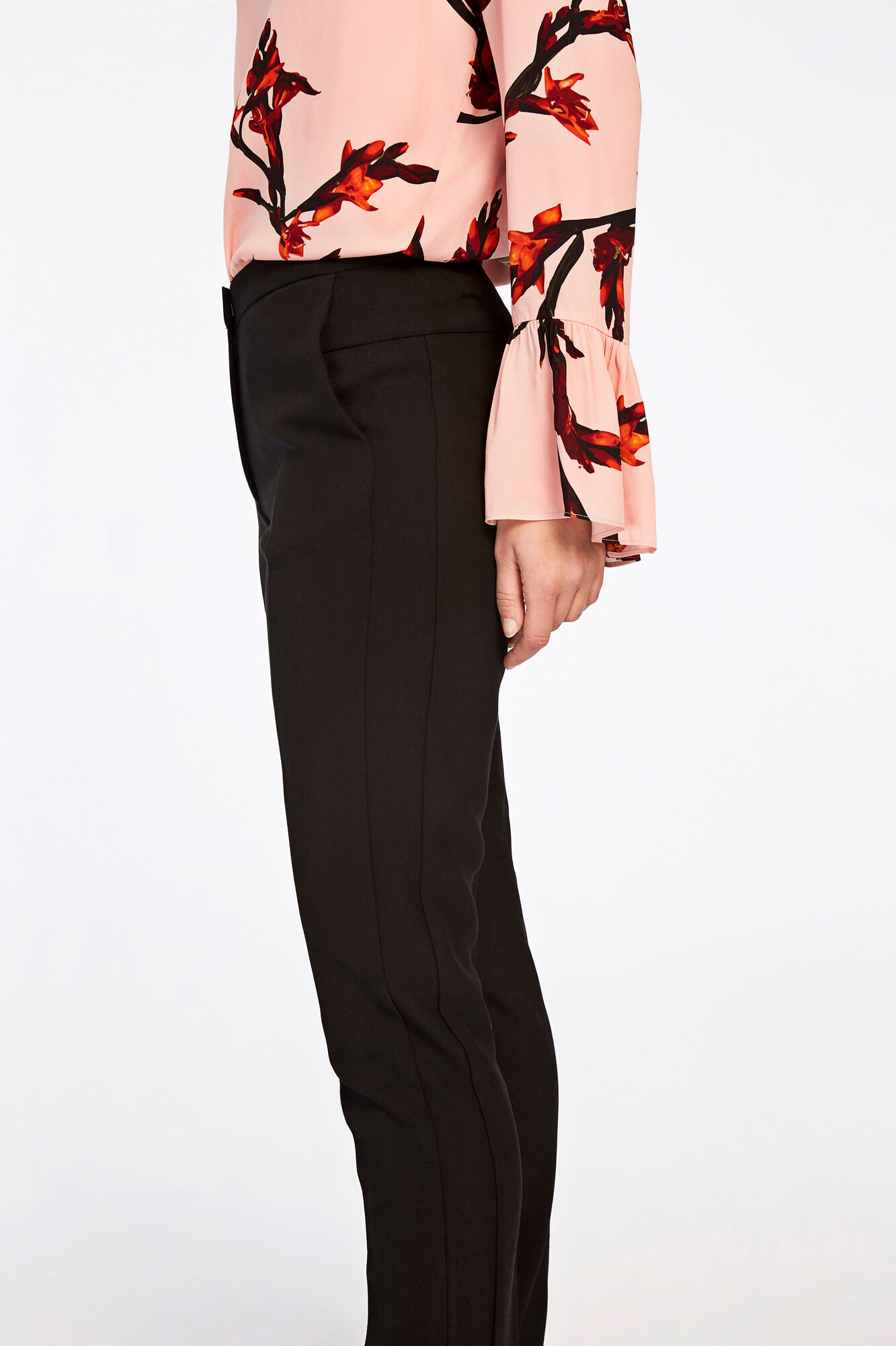 Nell pants 8284, BLACK