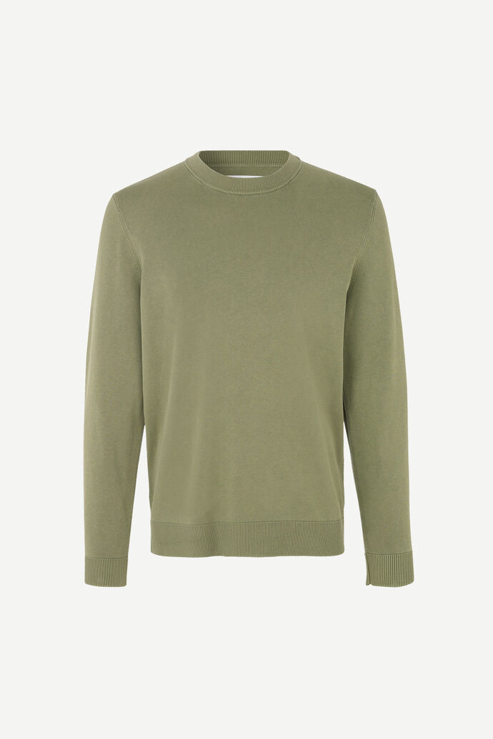 Ferris crew neck 11514, DEEP LICHEN GREEN