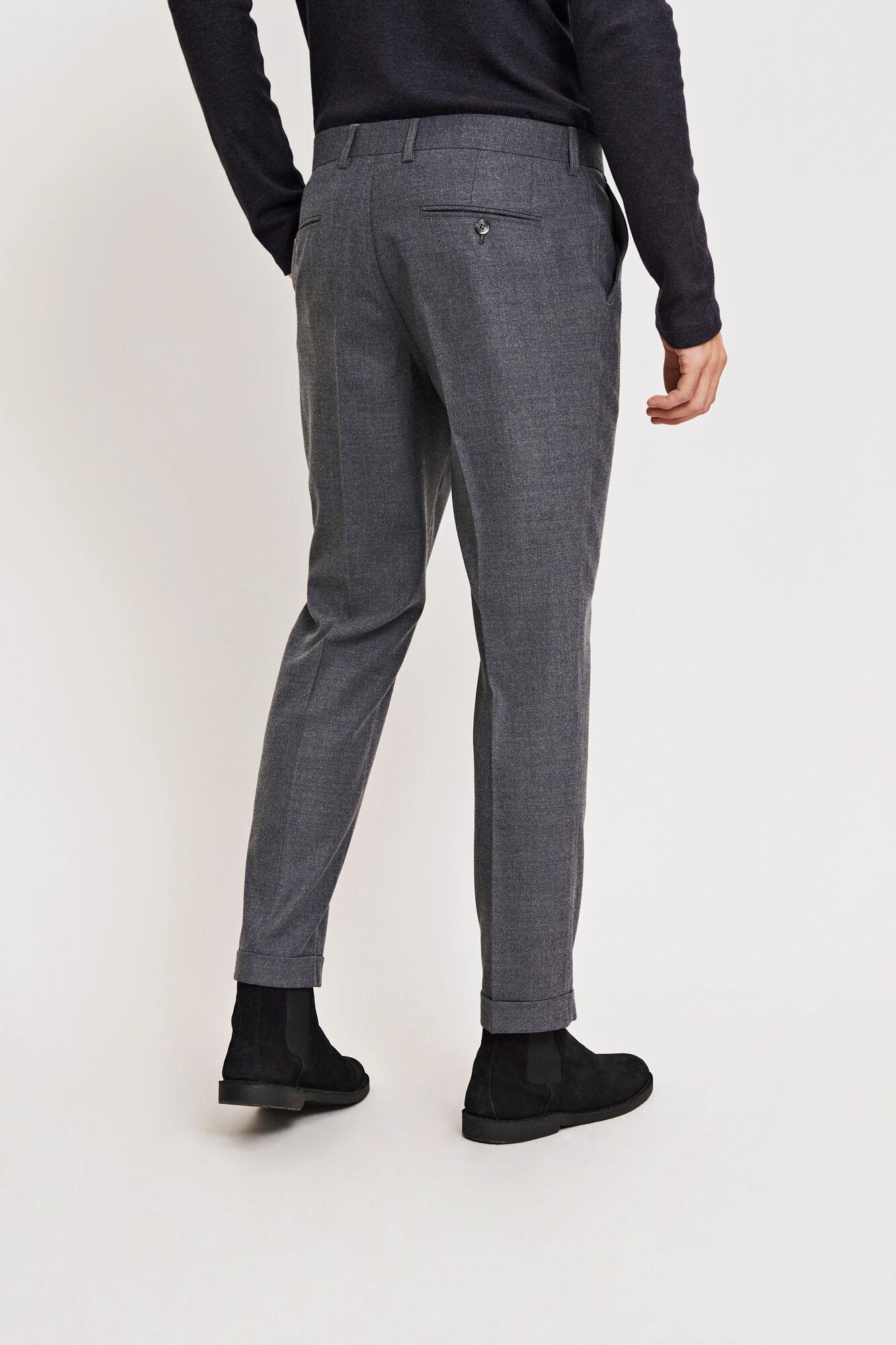 Laurent pants fold up 6568