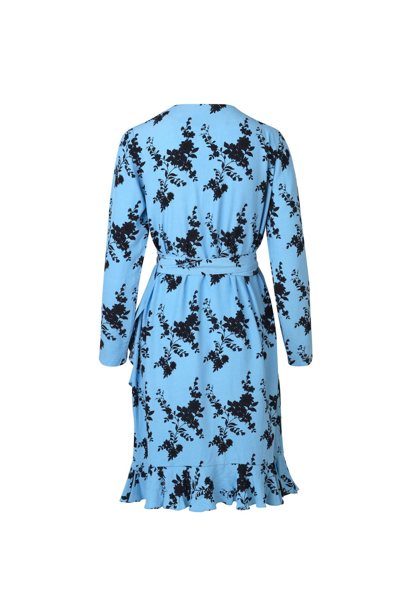 Limon ls dress aop 6515, BLUE BLOOM