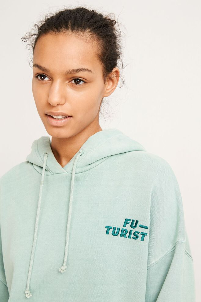 Camma hoodie aw 9916, CHINOIS GREEN