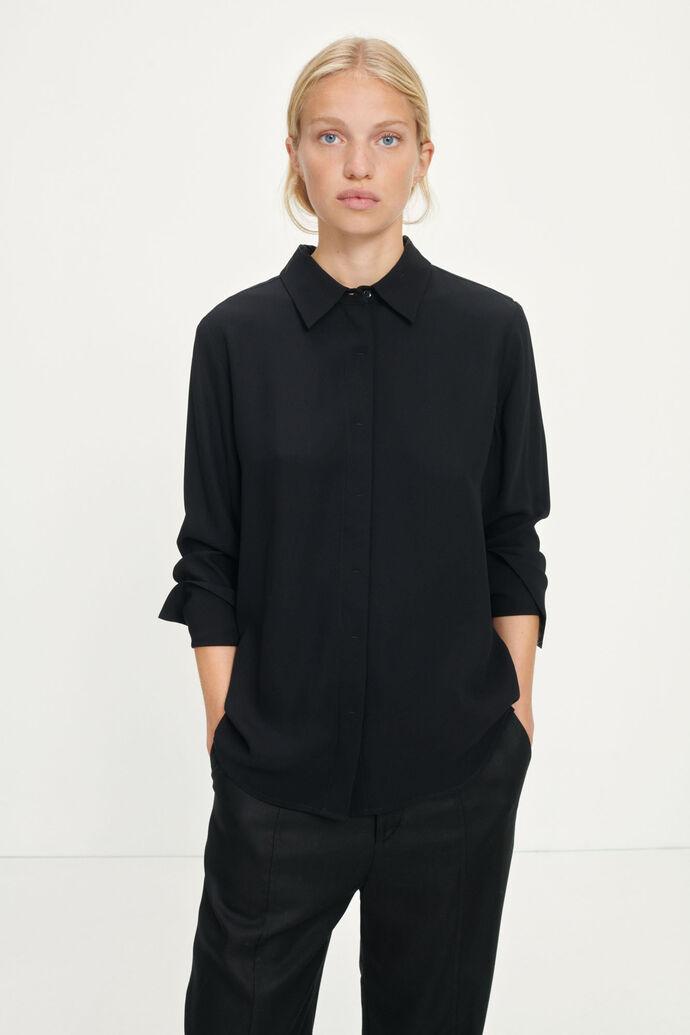 Thiare shirt 12998, BLACK