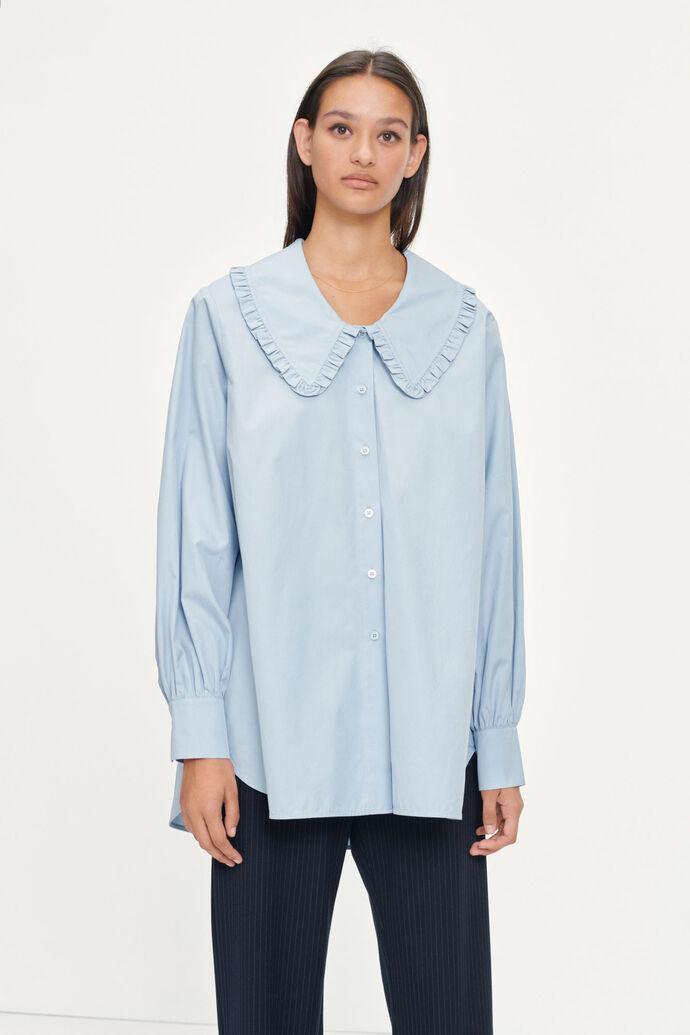 Franka long shirt 11468, DUSTY BLUE