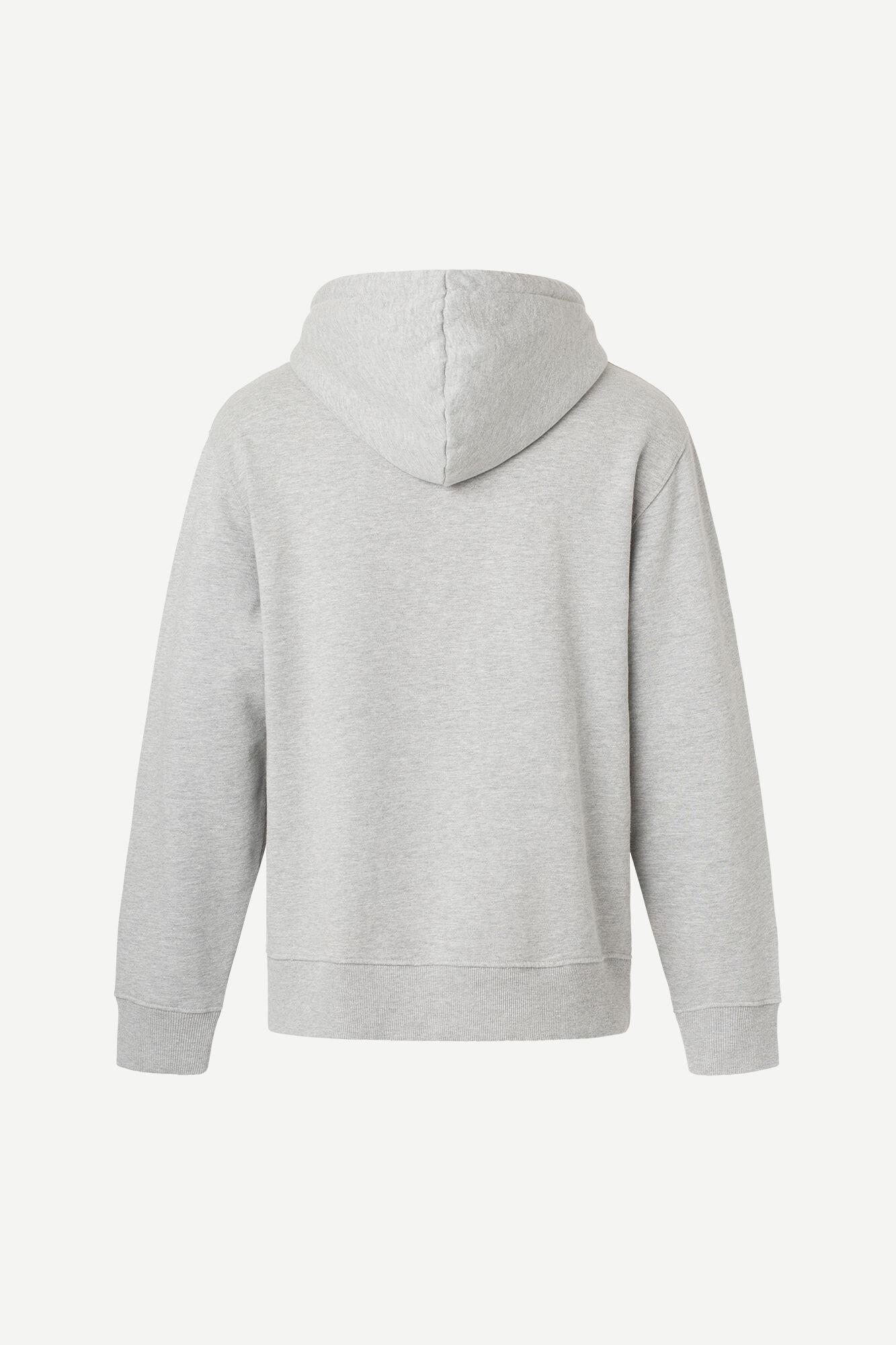 Norsbro hoodie 11727, GREY MEL.