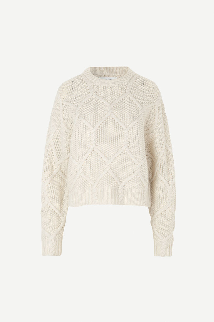Paula crew neck 11250, WHISPER WHITE