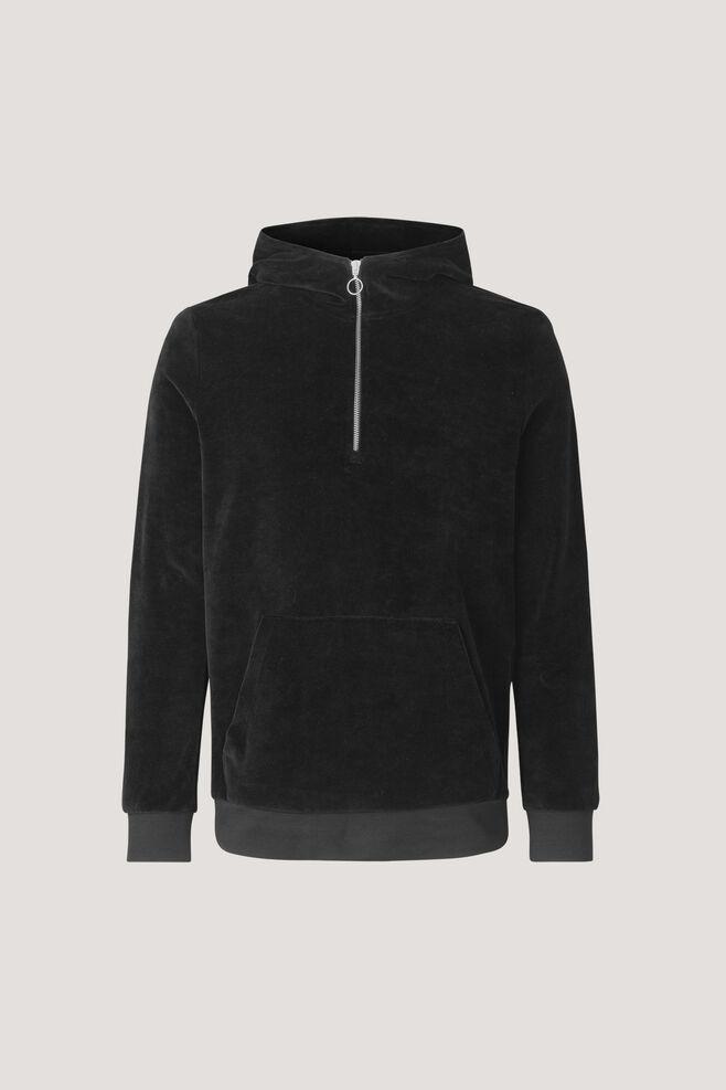 Alfonso hoodie 7930, BLACK