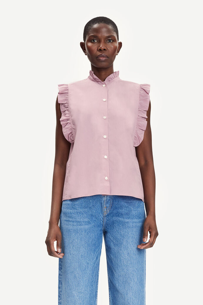 Marthy shirt top 11466, MAUVE SHADOW