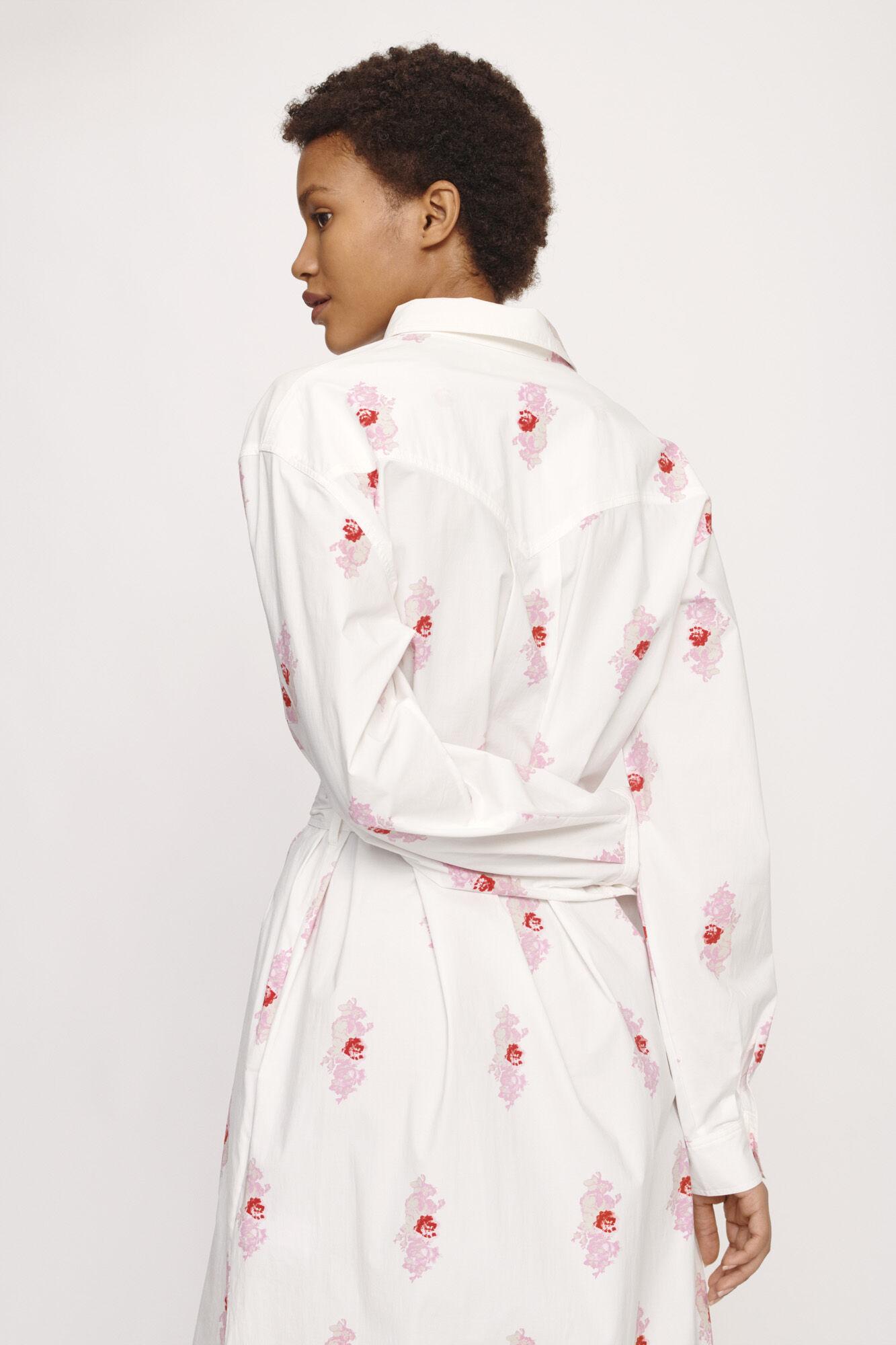 Cora shirt dress aop 10783