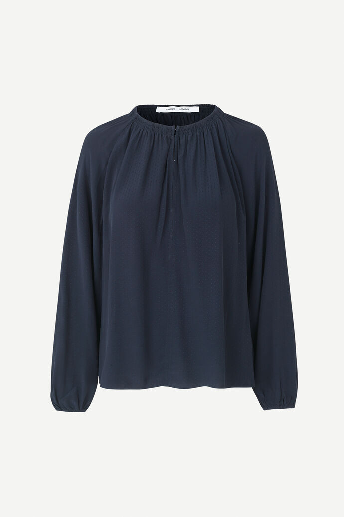 Kaia blouse 10458, NIGHT SKY