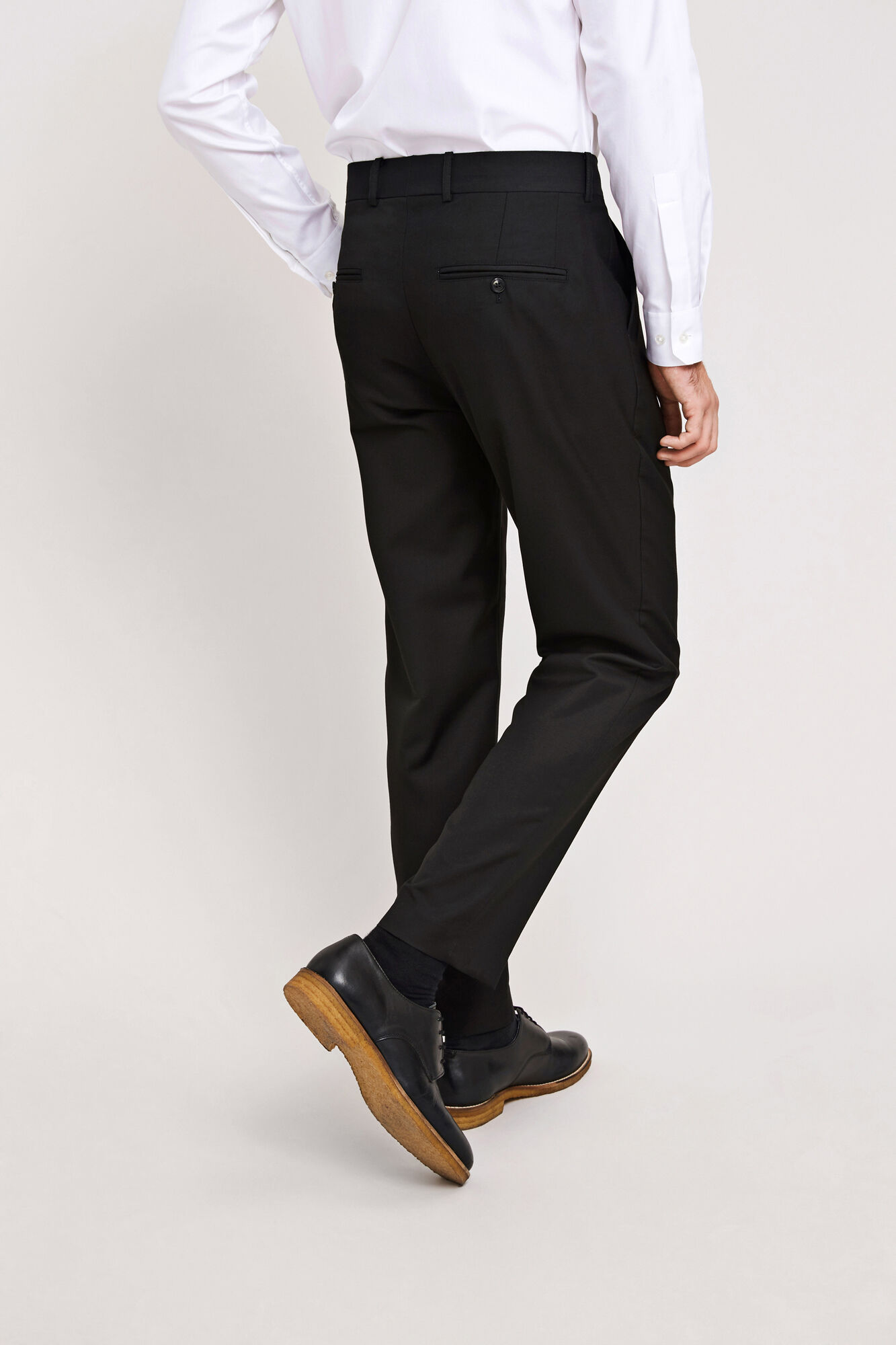 Laurent pants 6566, BLACK