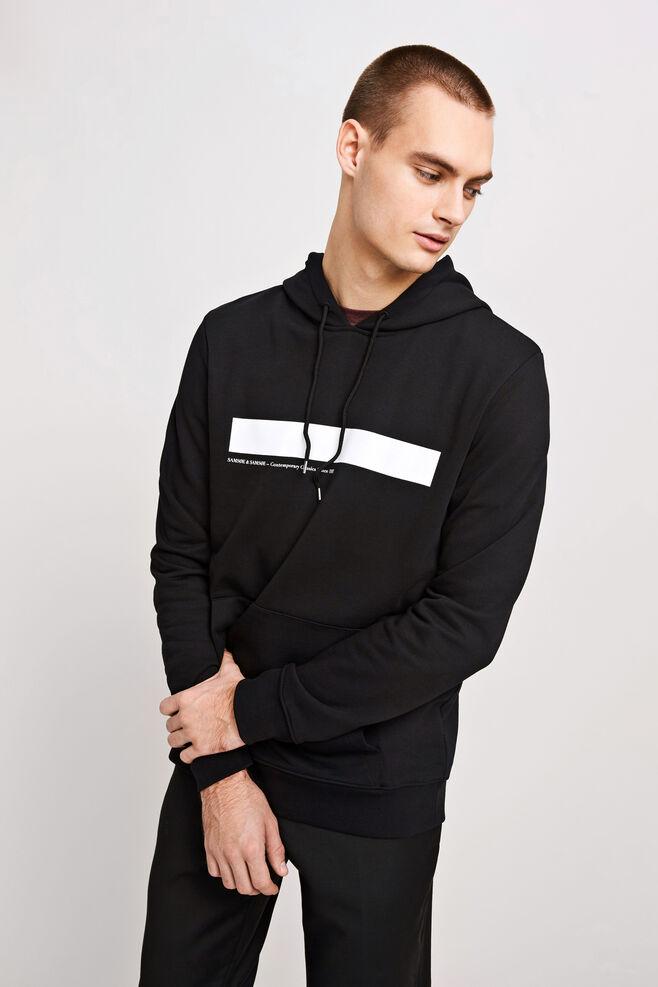 Rapp hoodie 10104, BLACK