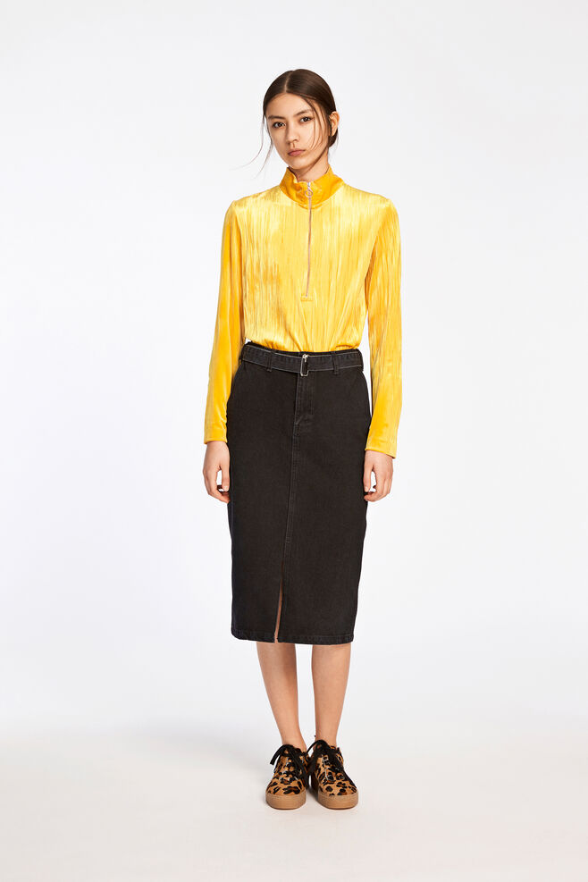 Ziva zip t-n 8214, GOLDEN ROD