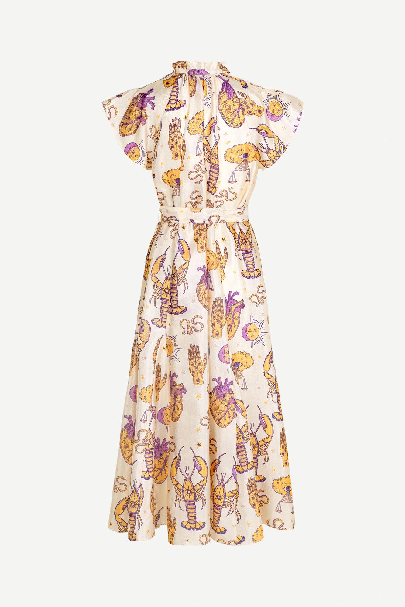Karookh long dress aop 11244
