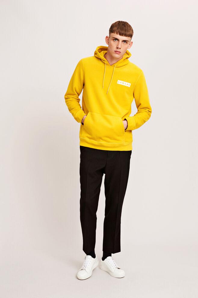 Samsoe hoodie 9461, LEMON CURRY