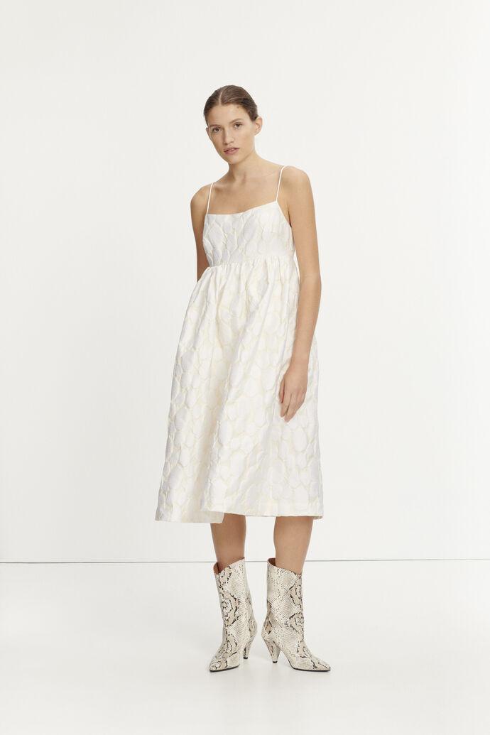 Grant dress 11457, WARM WHITE