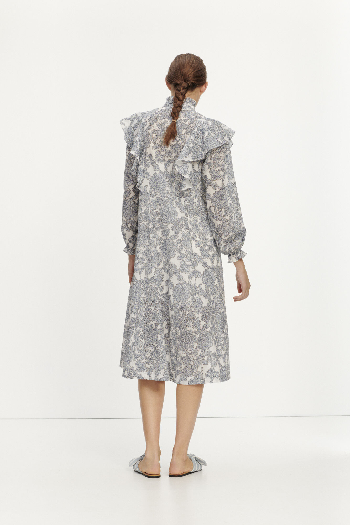 Martha l shirt dress aop 11159